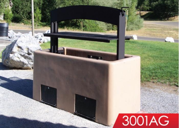 3001AG - Group BBQ w/Adjustable Grill