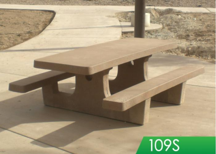 8' Tables w/Square Legs