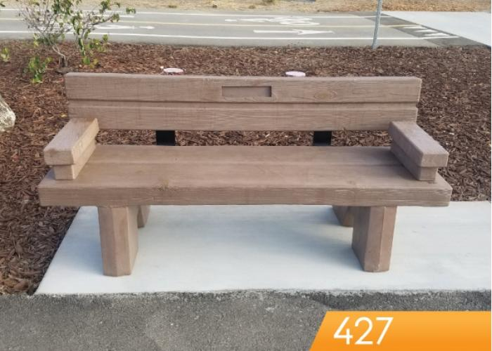 427 - Timber Series Bench