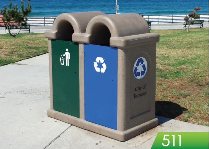 511 - Waste and Recycling Receptacle