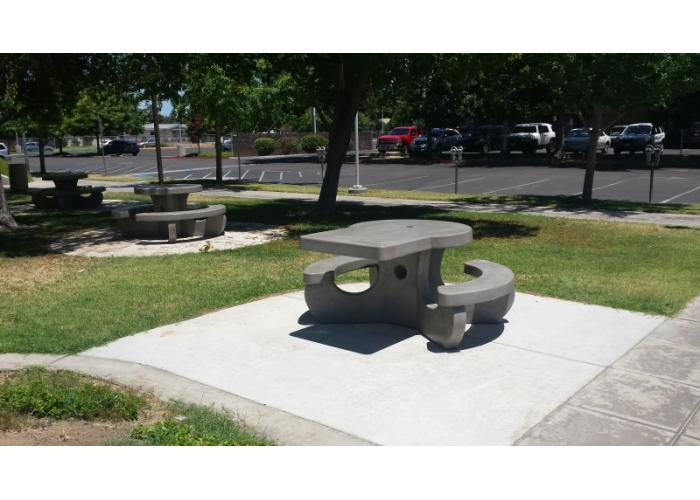 Outdoor Creations Picnic Tables Round Tables