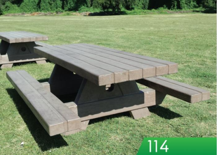 Outdoor CreationsPicnic TablesRectangle Tables - Timber picnic table