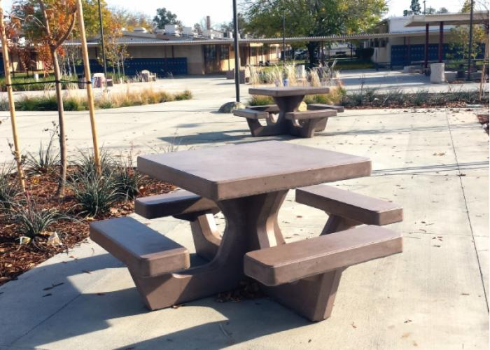 Square Court Tables