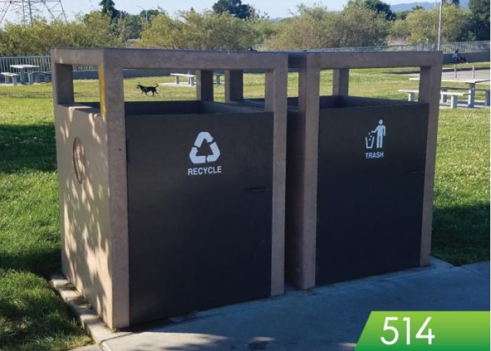 514 - Garbage or Recycling Enclosure